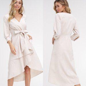 Midi Dress - Natural